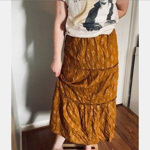 April Cornell boho skirt